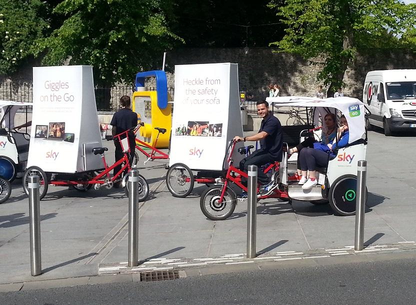 Emission Free Pedi-Cabs