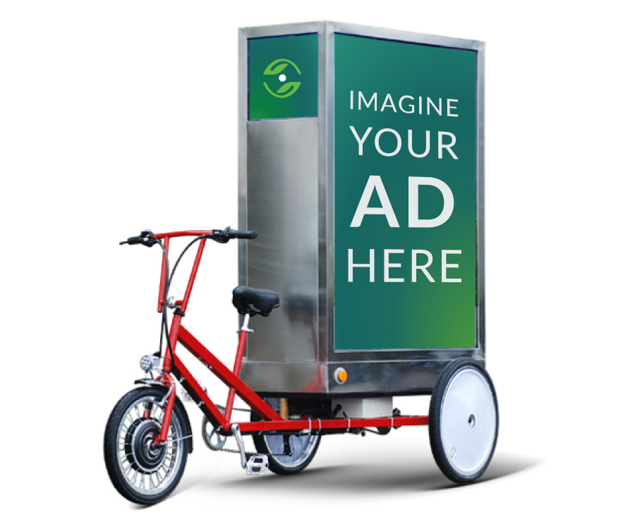 Adbikes 3 sided A