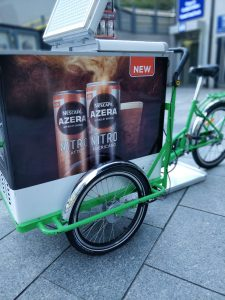 refrigeration bikes, bite bikes, promotional bikes, sampling bikes